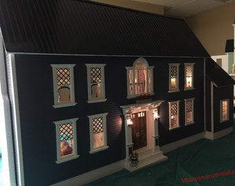 Ooak Colonial Dollhouse