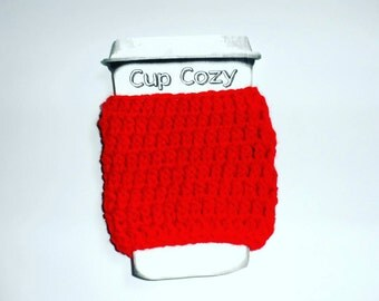Red Coffee Cozy