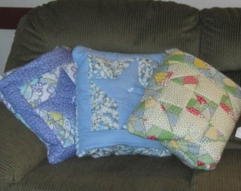 Pocket Pillow Quilt
