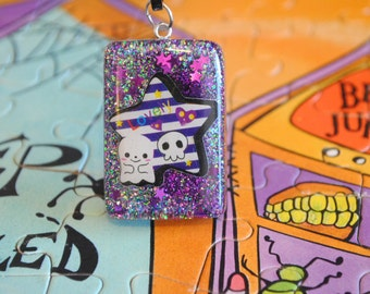Ghost and Skull friends Necklace