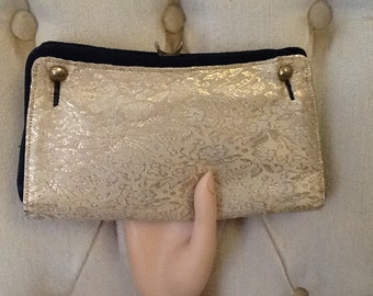 Vintage  Reversible Frilo Evening Clutch