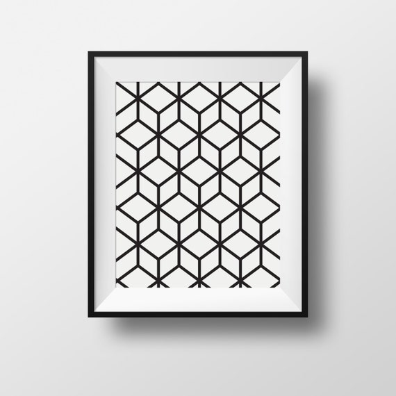 Image about ikea black and white prints