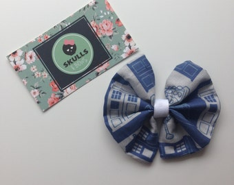 Doctor Who Hair Bow Clip