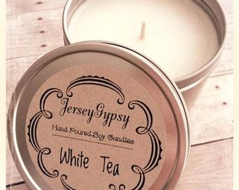8 oz. White Tea Soy Candle