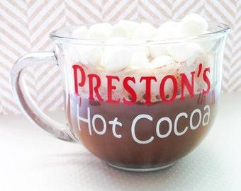 Personalized Hot Cocoa Mug