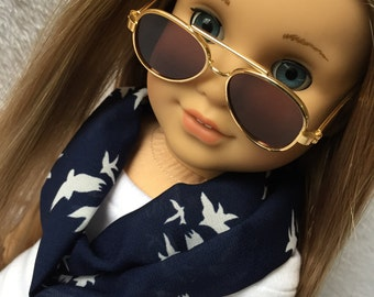 Infinity Scarf. 18 inch doll clothes. Fits American Girl doll