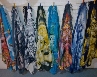 Sarongs, Scarves or sofa throws