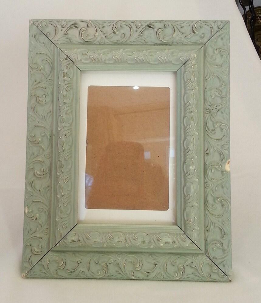 Home decor vintage frame floral photo frame elegant for Best selling home decor etsy
