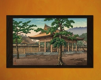 Japanese Art - Tsuchiya Koitsu Artwork - Ukiyo-e Art Home Decor Oriental Decor Asian Art Edo Period Japanese Artist House
