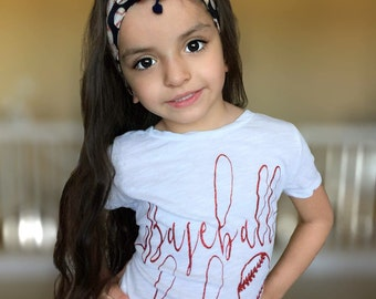 baseball shirt - baby girls baseball bodysuit - baseball babe - little girls clothing - baseball one piece - sports shirt - baseball tee