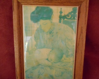 Mother and Baby Tile