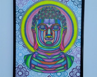 Original Buddha illustration