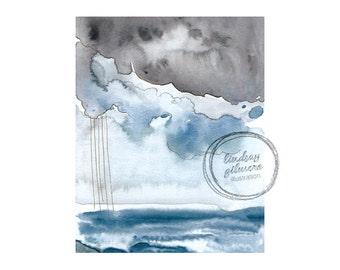 Stormy Sky print