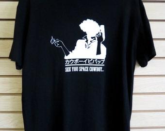 Cowboy BeBop Spike Spiegel Space Cowboy t-shirt *MEN'S CUT*