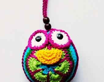 dutch crochet pattern Liesje the little owl