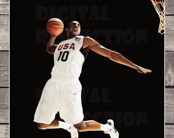 Basketball Poster - Basketball Print, Art Print, instant download, digital Print, digital poster, poster
