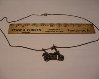 Sterling Chopper Pendant