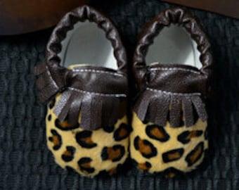 Cheetah Moccasins
