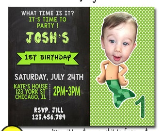 bubble guppies first birthday, bubble guppies 1st birthday invitation, bubble guppies first birthday invitation, Bubble Guppies Invite