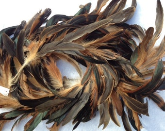 Feather Guirlande 5.5 Feet  Unique Feathers Wedding Feathers Hat Embellishment