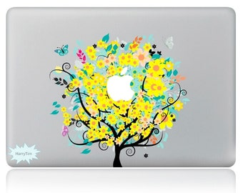 New tree decals mac stickers Macbook decal macbook stickers apple decal mac decal stickers 08