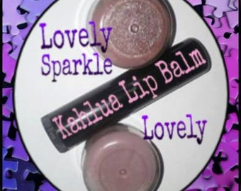 Lovely/Lovely Sparkle  Kahlua Lip Balm