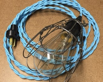 Plug-in Pendant Light with 15' Cord