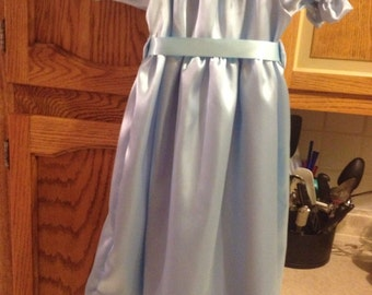 Wendy dress peter pan Wendy dress costume with hair bow