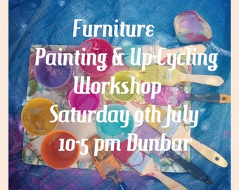 Furniture Painting & Up-Cycling Workshop - Full Payment