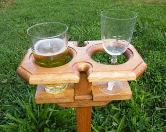 Beer Holder - Wine Holder - Drink Holder, Beer, Wine or Soda/Pop
