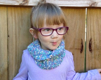 Toddler Twist Scarf- Confetti
