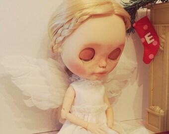 Christmas Angel Dress Set for Blythe