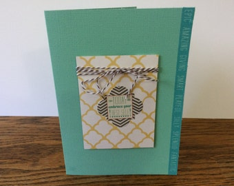 Your best self - encouragement, congratulations, thinking of you card