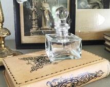 Perfume Bottle, vintage parfume bottle, vanity decor, gifts for her