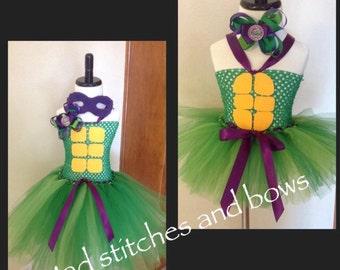 Handmade Tmnt tutu dress Costume