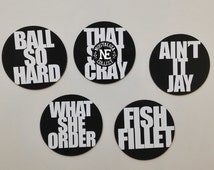 Unique fish magnets related items etsy for What she order fish fillet