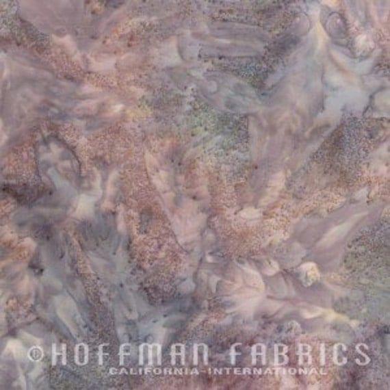 Sale Hoffman Fabrics Bali Batik Mottles / Mineral with Gray