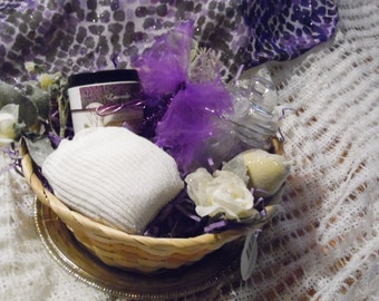 Foot Pamper Basket