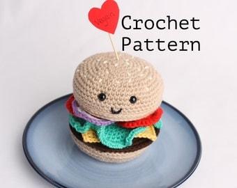 Crochet Pattern Amigurumi Burger