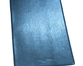 Ulysse Nardin Blue Leather Booklet Holder Pre-Owned Authentic