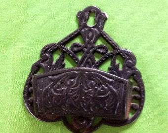 Cast Iron Match Holder by Wilton