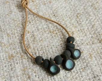 Necklace to Blythe doll. Turquoise / pendant for Blythe dolls. Turquoise