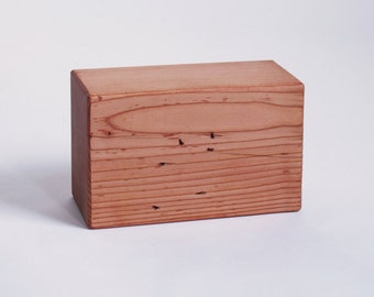 Set of Reclaimed Solid Wood Yoga Blocks