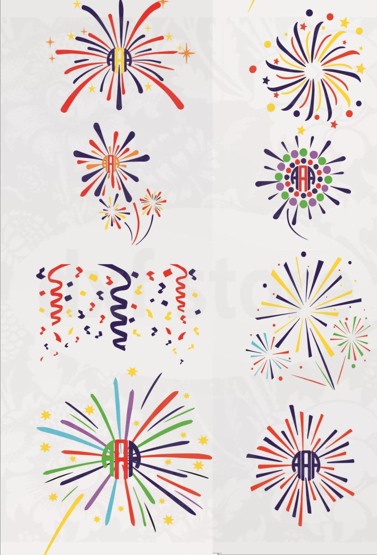fireworks svg 4th of july svg memorial day svg patriotic