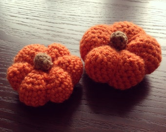 Crochet Mini Pumpkin
