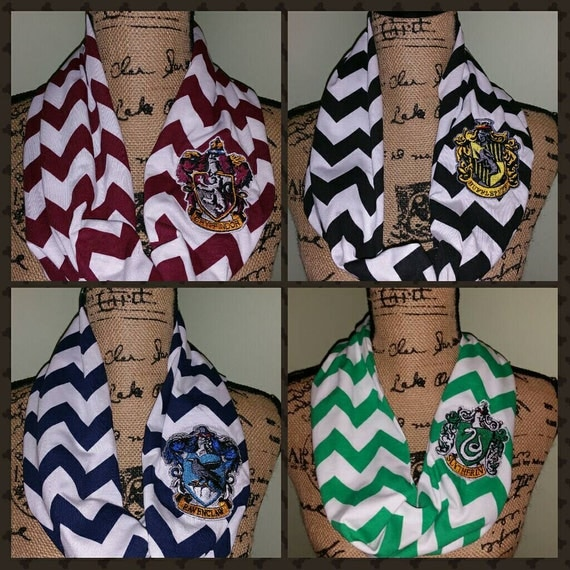 Harry Potter Inspired Infinity Scarves