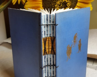 """Blank journal with reclaimed cover from """"Wind in the Willows"""""""