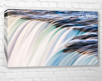 Fluid abstract canvas wall art, canvas water print, fluid wall art, abstract photography, multiple canvas, 4 feet 3 feet, 3 panel 4 panel