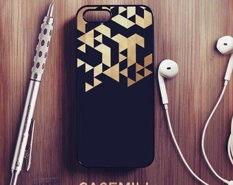 Gold Geometric iPhone 6 Case Geometric iPhone 6s Case iPhone 6 Plus Case iPhone 6s Plus Case iPhone 5s Case iPhone 5 Case iPhone SE Case