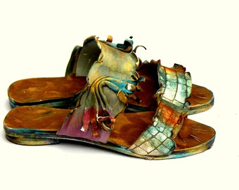 "Sandals ""Aphrodite5"" (handmade to order)"